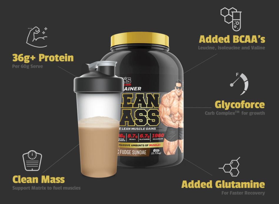 Clean Mass Protein Product