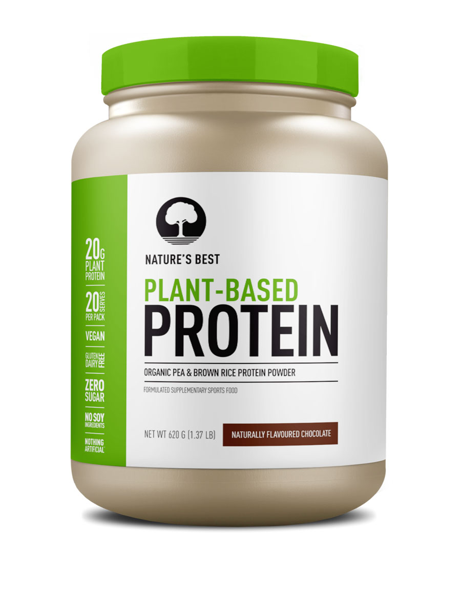 plant-based protein powder chocolate