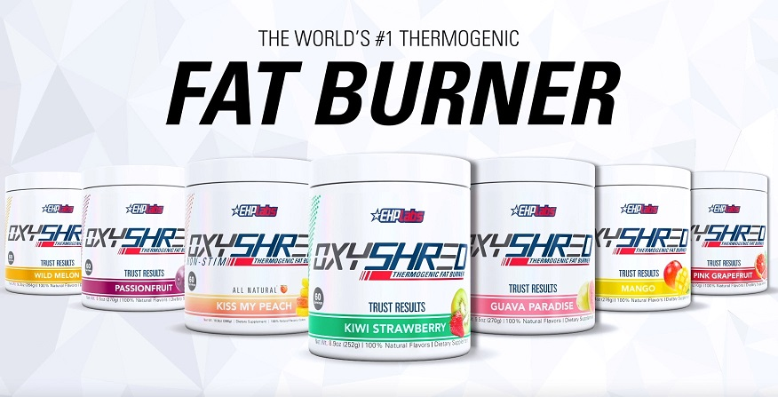 EHP Labs Oxyshred Flavour Range