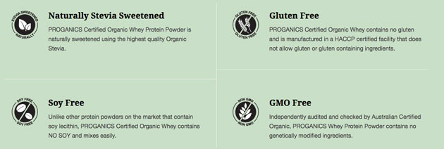 grass fed whey ingredient information