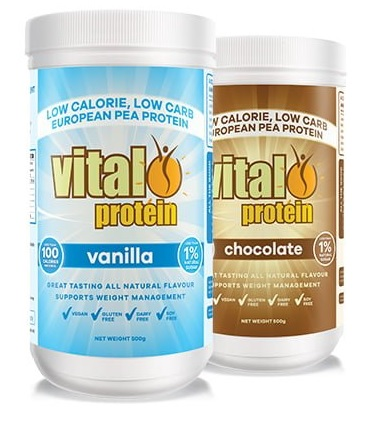 vital greens vital protein chocolate and vanilla